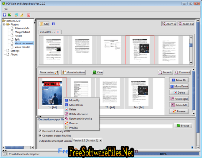 PDF Split and Merge Basic Free Download for PC