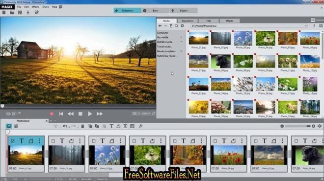 free download full version MAGIX Photostory 2020 Deluxe 19.0