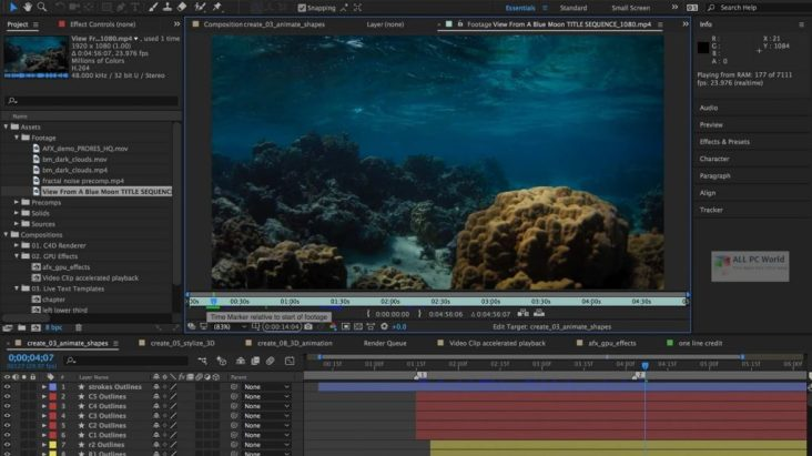 Adobe After Effects CC 2020 + Crack