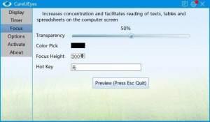 careueyes-focus license code