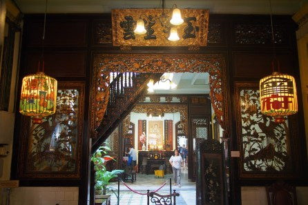 Inside of Baba Nyonya Museum