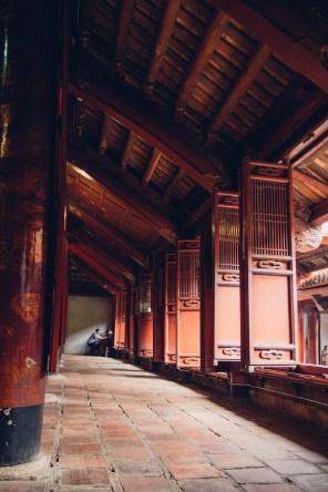 Temple of Literature - Main Temple Corridor