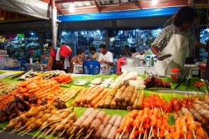 Phuket Night Market - Barbecue Sticks