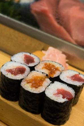 Negitoro Sushi Rolls