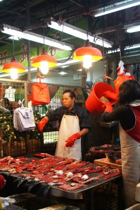 Fish Stall at the Wet Market