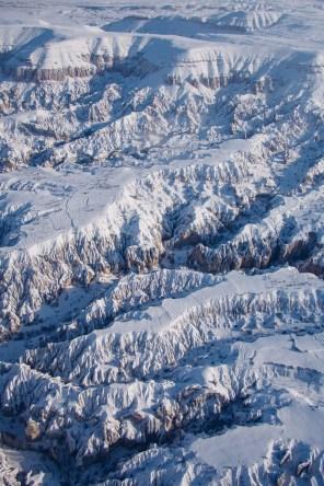 Cappadocia Valleys from the Sky