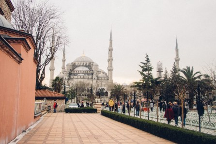 View of Sultan Ahmed Mosque