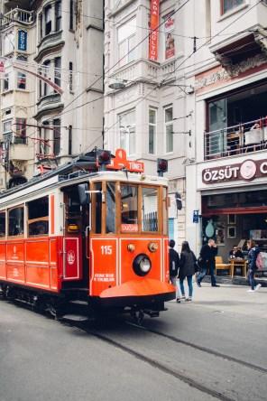 Taksim Square Nostalgic Tram