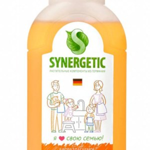 SYNERGETIC Мыло жидкое биоразлагаемое для мытья рук и тела Фруктовый микс