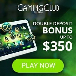 Gaming Club Casino | 30 free spins and 250% up to €350 bonus | Review