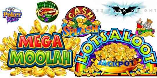 Microgaming Jackpots - Mega Moolah, Major Millions, Cash Splash, etc.