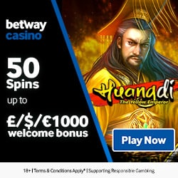 Betway Casino | 100 free spins and 175% up to £1000 bonus | review