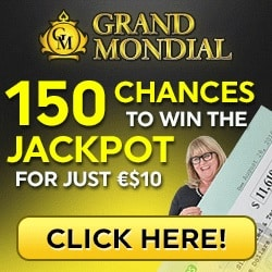 Grand Mondial Casino   150 free spins no deposit bonus   review