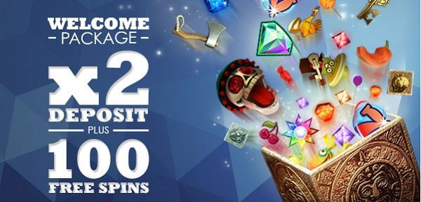 Slots Million Casino welcome bonus: 100% extra and 100 free spins