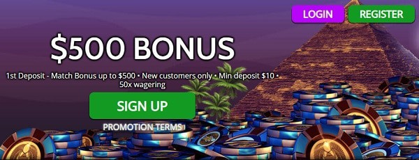 100% up to 500 EUR/USD and 25 Free Spins on slot machines
