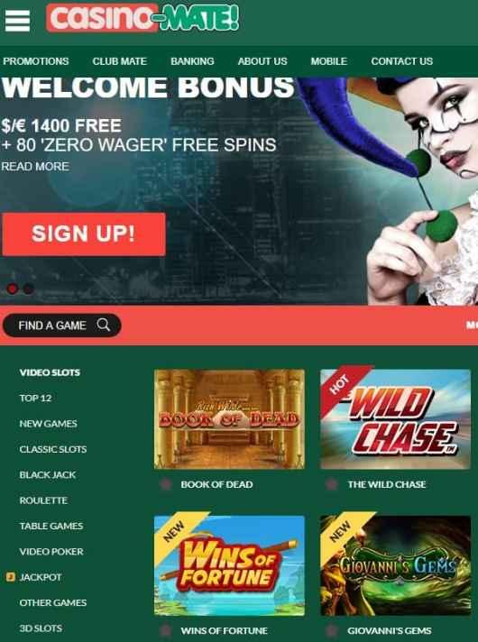 Casino Mate Review