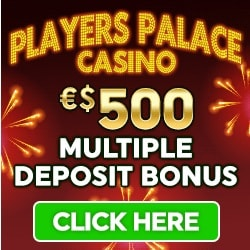 Players Palace Casino | €500 free credits and 100 free spins | Review