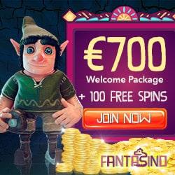 Fantasino Casino Review | 160 free spins + 275% up to €700 free bonus