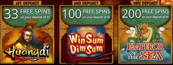JackpotCity 333 free spins exclusive bonus