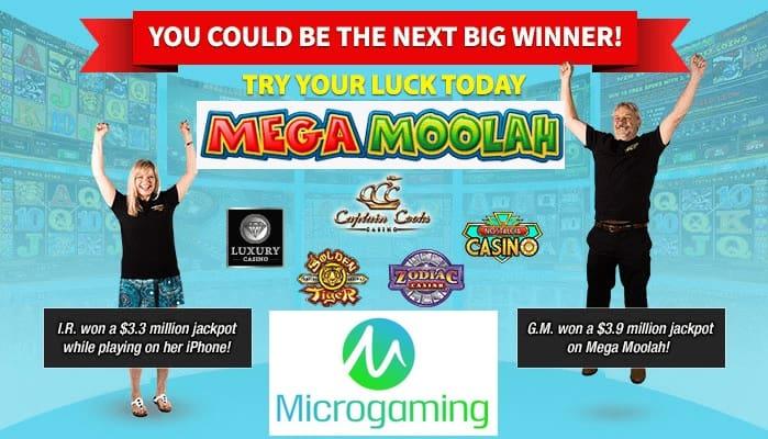 Mega Moolah jackpot winners stories from best Microgaming casinos