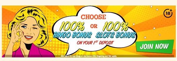 Bingo Extra Casino welcome bonus