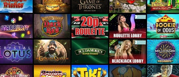 Play exclusive slots and table games