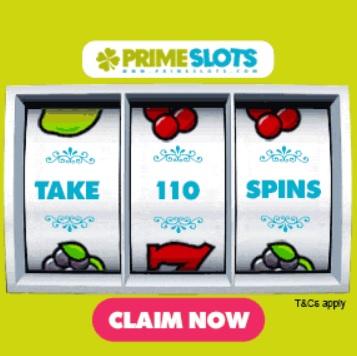 PrimeSlots Casino free spins