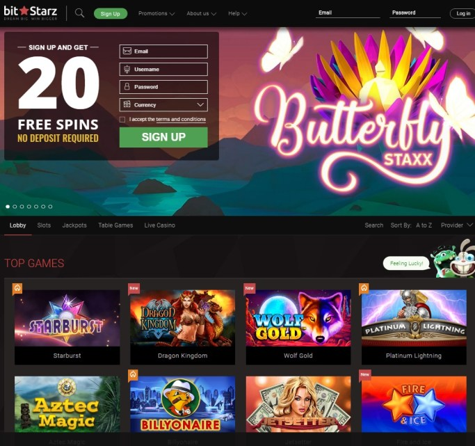 Bitstarz Casino Online - 20 free spins bonus