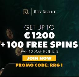 Roy Richie Casino 100 free spins and 325% up to €1,000 bonus