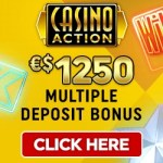 Casino Action [register & login] €1250 bonus + 50 free spins slots