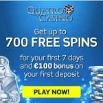 Quatro Casino [register & login] 700 free spins + €100 free bonus