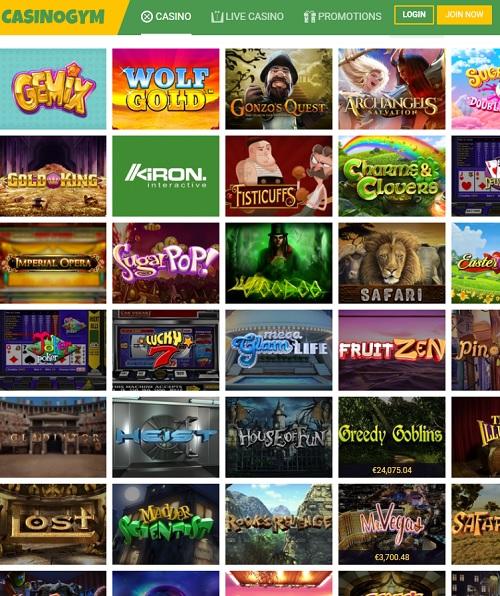 Casino Gym Overview
