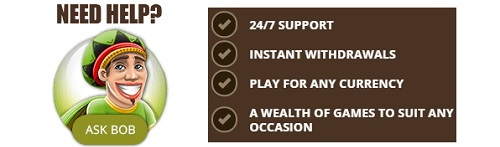 Bob Casino support