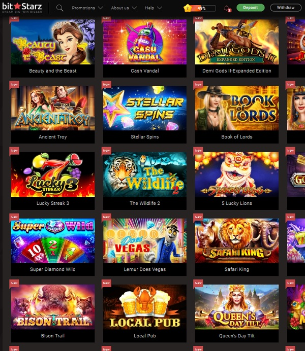 BitStarz.com Casino games online and mobile - play for free!