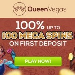 QueenVegas.com Casino – 100 free spins no wagering required