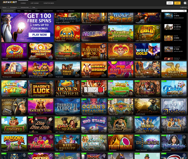 Online casino signup