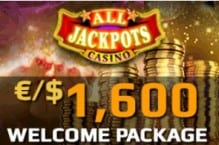 All Jackpots Casino free spins