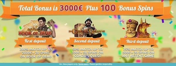 Spin Station Casino Bonuses