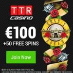 TTR CASINO – 100 free spins and 100% bonus – bitcoin casino games