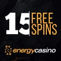 Energy Casino €5 no deposit bonus and 150% up to €400 welcome bonus
