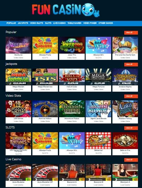 FUN Casino Online & Mobile
