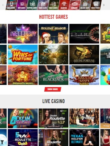 VegasHero Casino Online & Mobile