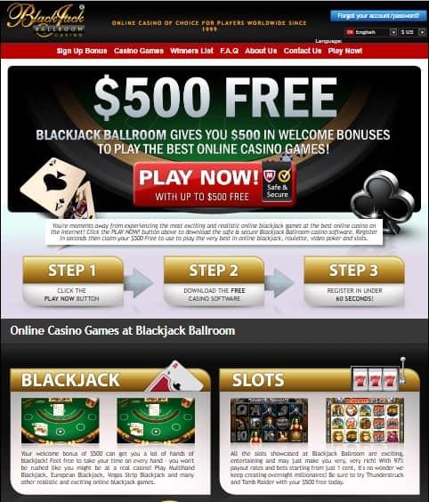 Blackjack Ballroom Casino Review
