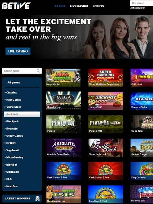Betive.com free bonus