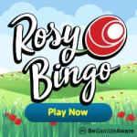 Rosy Bingo UK Casino: 65 free spins and £30 free play bonus