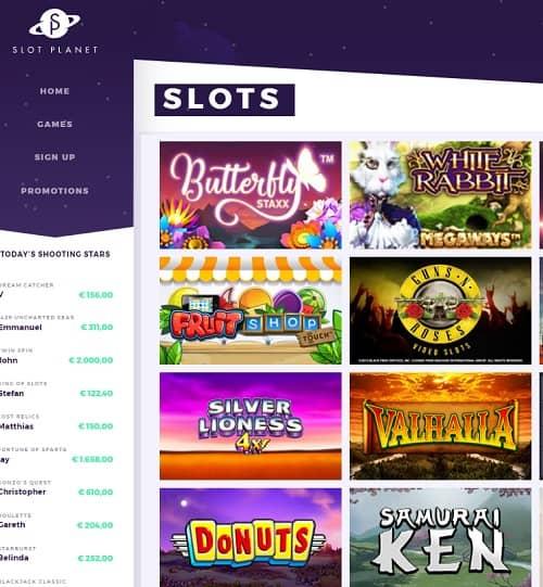 Slot Planet Casino free bonus