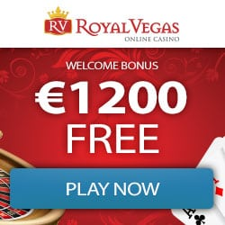 Royal Vegas Casino (register & login) - €1200 bonus and 100 free spins