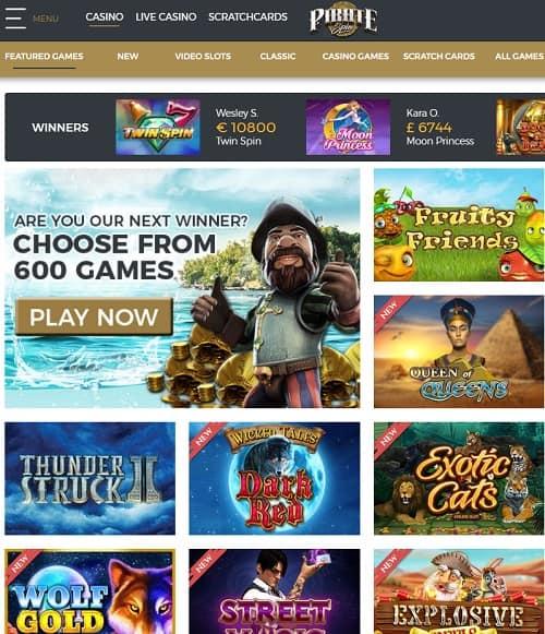 Pirate Spin Casino free spins gratis