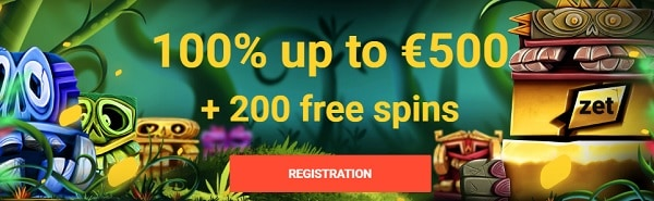 Zet Casino bonus and free spins