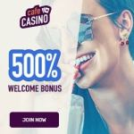 Cafe Casino (USA) 500% up to $5000 or 600% up to $6000 BTC bonus